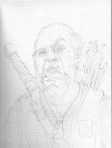 Skump AKA Driftwood Sketch